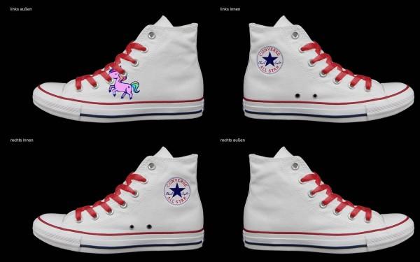Schuh (Design: 7523 )Converse High