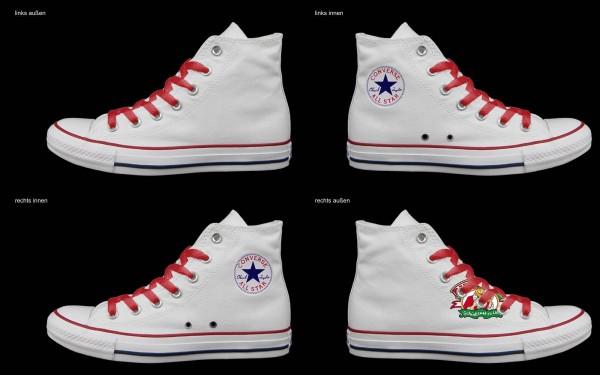 Schuh (Design: 5757 )Converse High