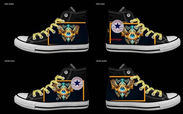 Schuh (Design: 4223 )Converse High