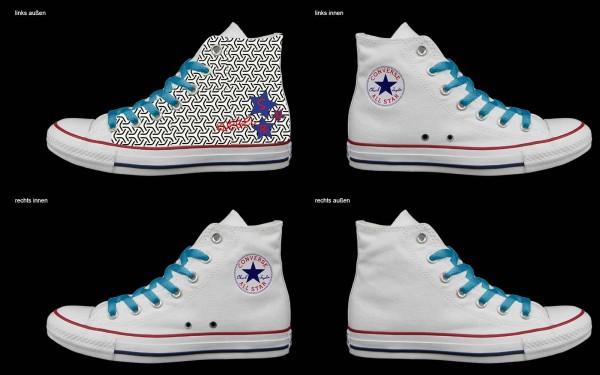 Schuh (Design: 5395 )Converse High