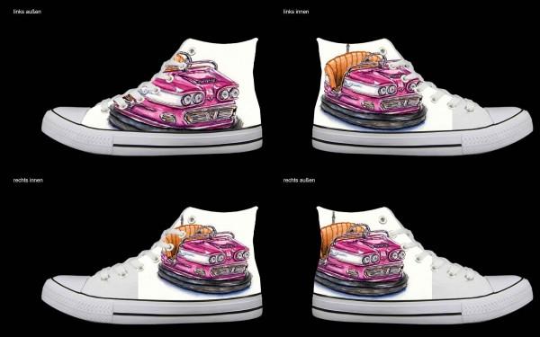 Schuh (Design: 7758 )Sneaker High
