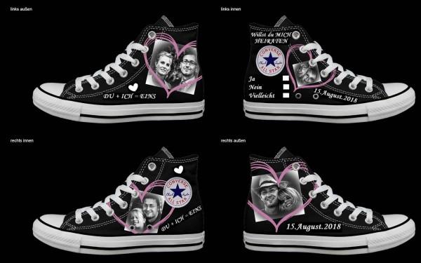 Schuh (Design: 3232 )Converse High