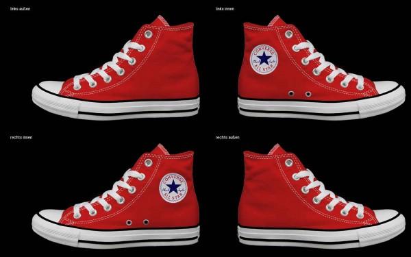 Schuh (Design: 7163 )Converse High