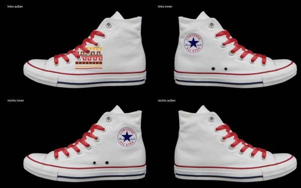 Schuh (Design: 5693 )Converse High