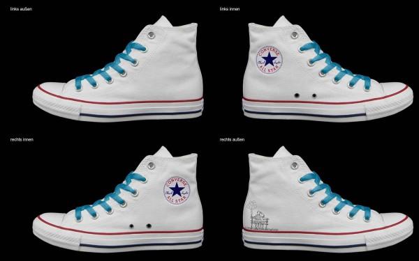 Schuh (Design: 7974 )Converse High