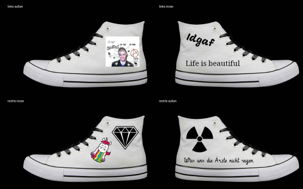 Schuh (Design: 4573 )Sneaker High