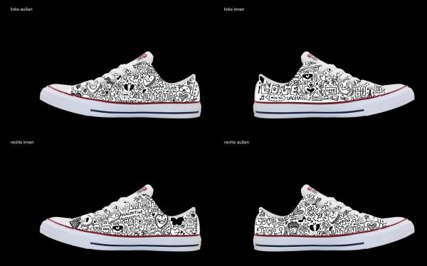 Schuh (Design: 3248 )Converse Low