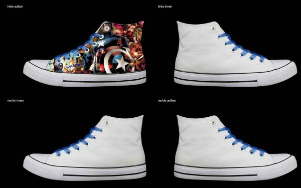 Schuh (Design: 7529 )Sneaker High