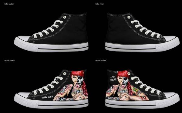 Schuh (Design: 4589 )Sneaker High
