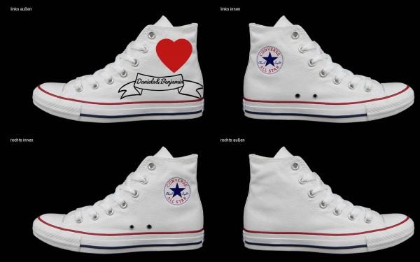Schuh (Design: 6592 )Converse High