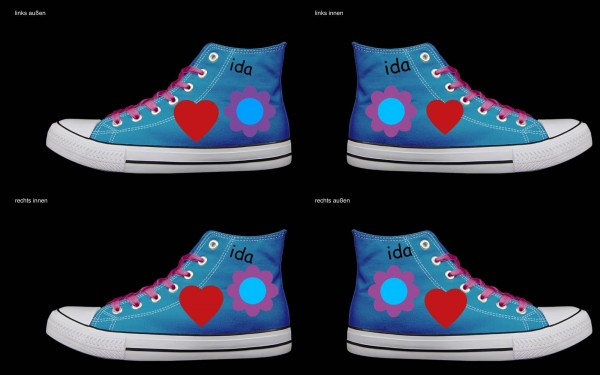 Schuh (Design: 5755 )Sneaker High