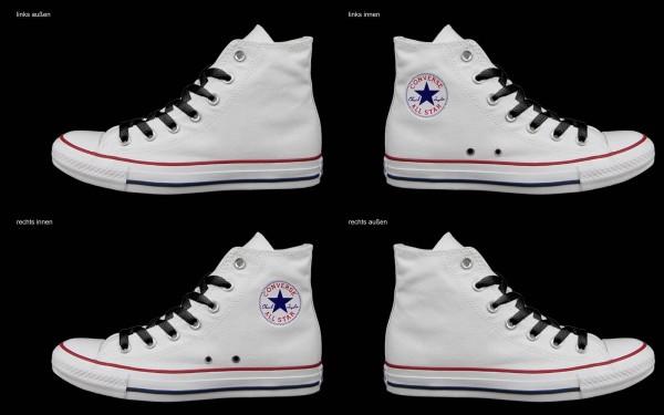 Schuh (Design: 7612 )Converse High