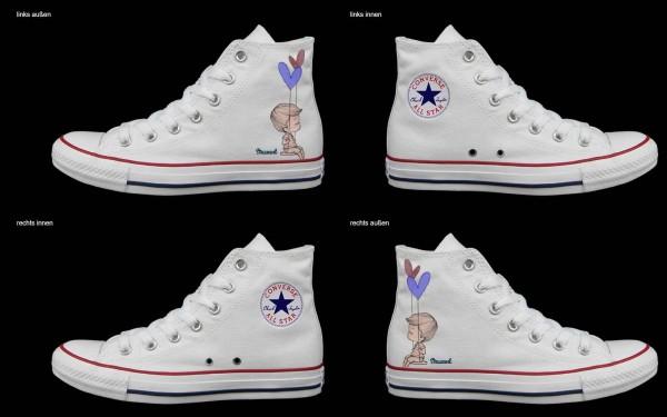 Schuh (Design: 6673 )Converse High
