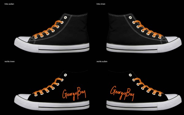 Schuh (Design: 4166 )Sneaker High