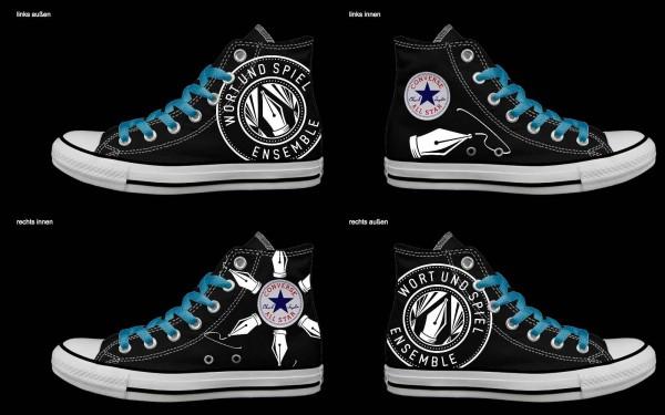 Schuh (Design: 7620 )Converse High