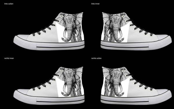 Schuh (Design: 4804 )Sneaker High