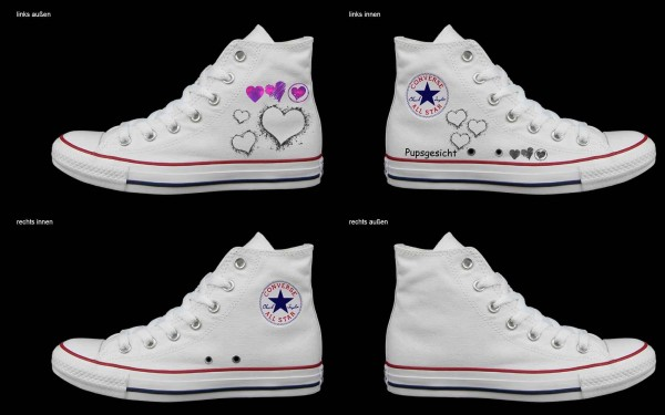 Schuh (Design: 7992 )Converse High