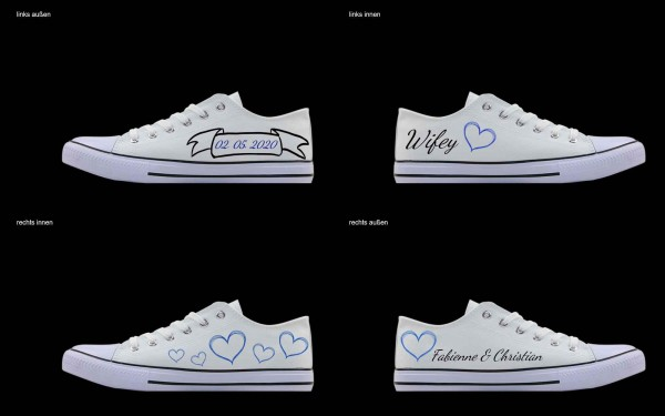 Schuh (Design: 4821 )Sneaker Low