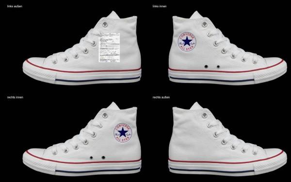 Schuh (Design: 7808 )Converse High