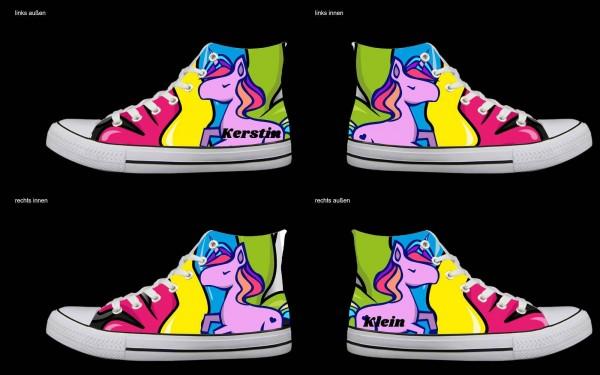 Schuh (Design: 7563 )Sneaker High