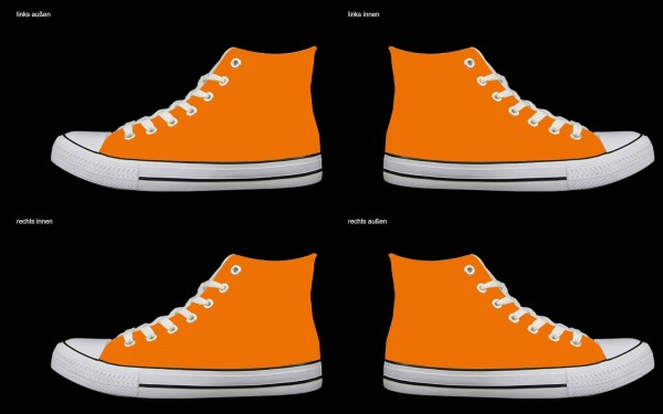 Schuh (Design: 6704 )Sneaker High