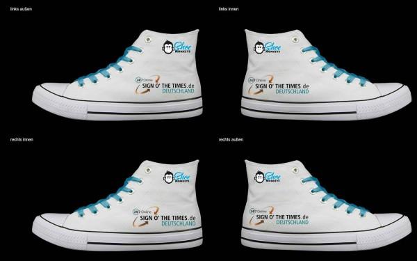 Schuh (Design: 8185 )Sneaker High