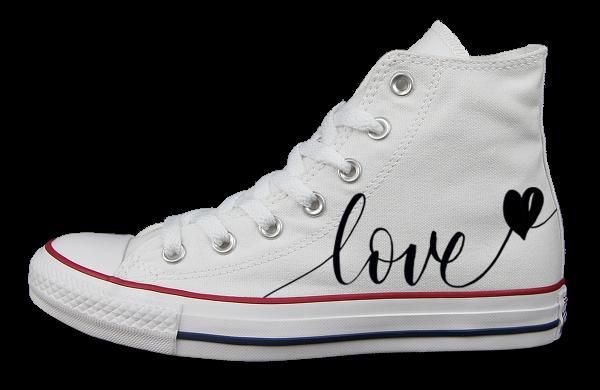 LOVE II - Converse - Links außen