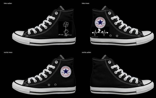 Schuh (Design: 7346 )Converse High