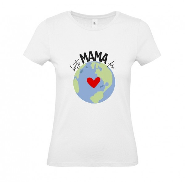 Damen Shirt White - Beste Mama der Welt