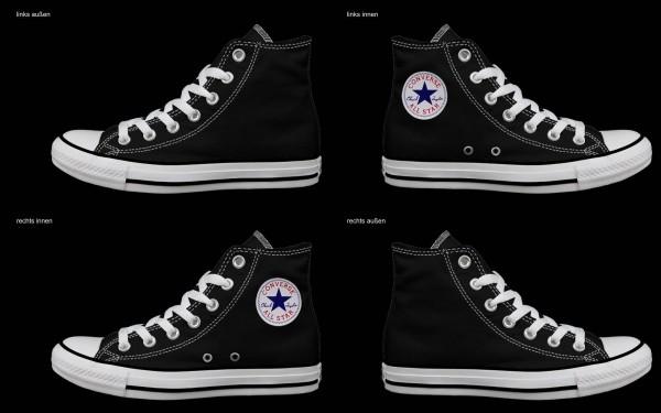 Schuh (Design: 4350 )Converse High