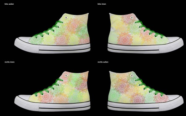 Schuh (Design: 4315 )Sneaker High