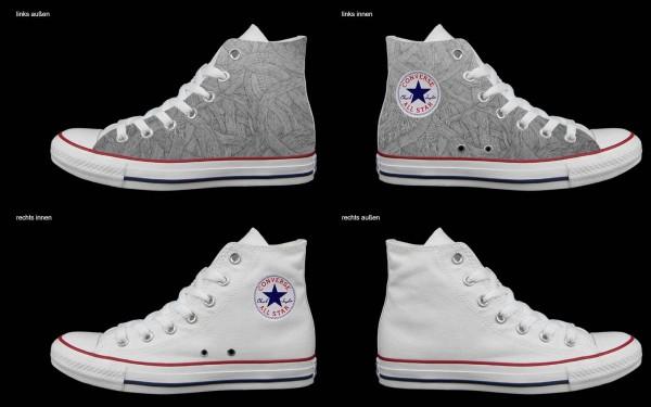 Schuh (Design: 7488 )Converse High