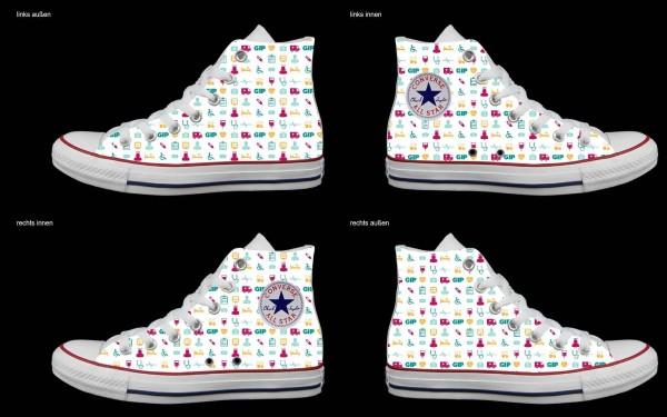 Schuh (Design: 5624 )Converse High