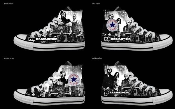 Schuh (Design: 6675 )Converse High