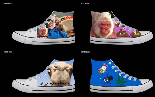 Schuh (Design: 6647 )Sneaker High