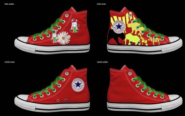 Schuh (Design: 5101 )Converse High