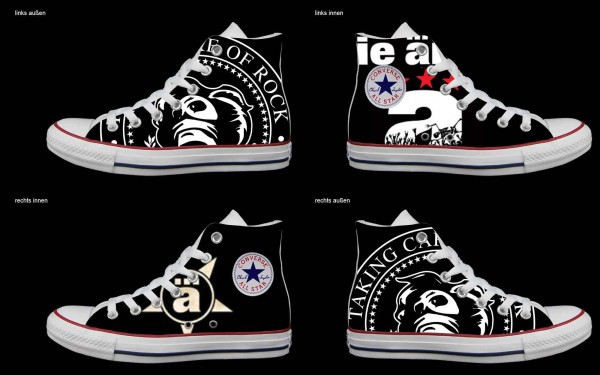 Schuh (Design: 4449 )Converse High