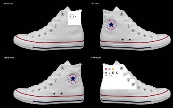 Schuh (Design: 5419 )Converse High