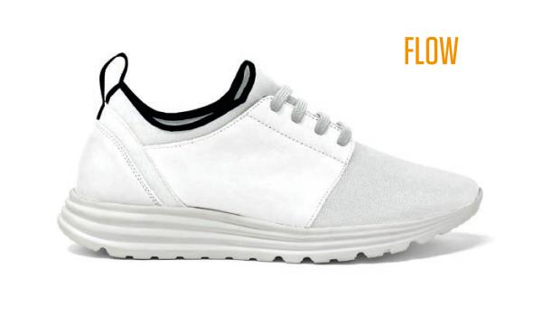 Flow Sneaker Weiß - ID-Sneakers