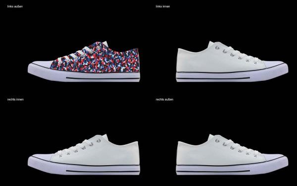 Schuh (Design: 7832 )Sneaker Low