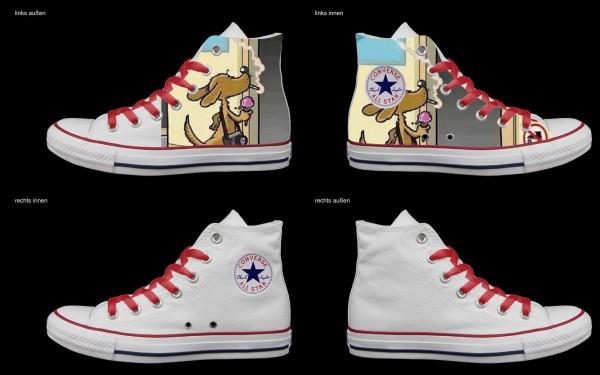 Schuh (Design: 4784 )Converse High