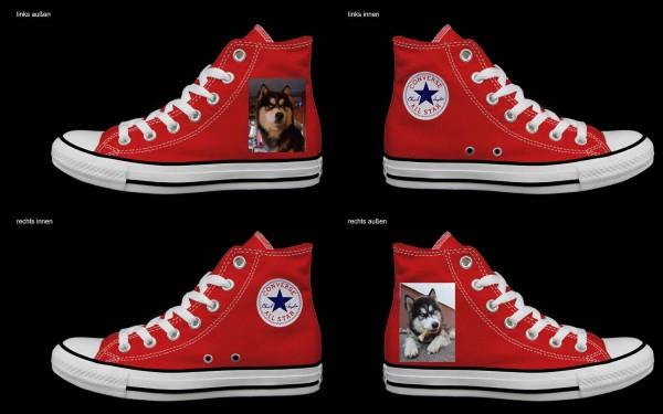 Schuh (Design: 4596 )Converse High