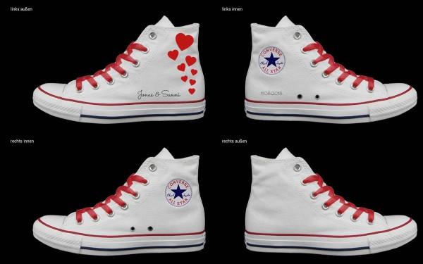 Schuh (Design: 3305 )Converse High