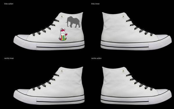 Schuh (Design: 7316 )Sneaker High