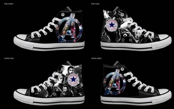Schuh (Design: 7989 )Converse High