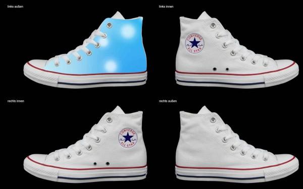 Schuh (Design: 4387 )Converse High