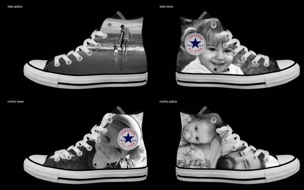 Schuh (Design: 7849 )Converse High