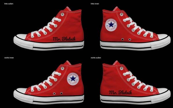 Schuh (Design: 7960 )Converse High