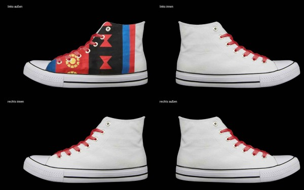 Schuh (Design: 7821 )Sneaker High