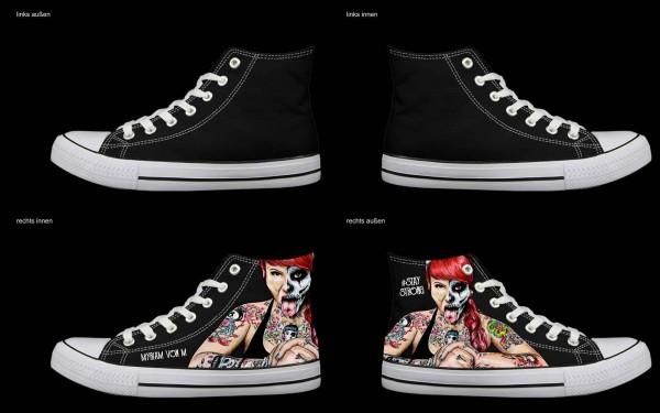 Schuh (Design: 4587 )Sneaker High